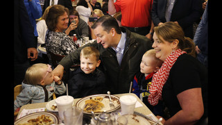 The Latest: Cruz camp: Fiorina uninjured after fall on stage