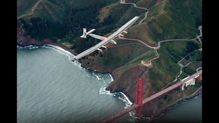Solar plane prepares to leave California for Arizona