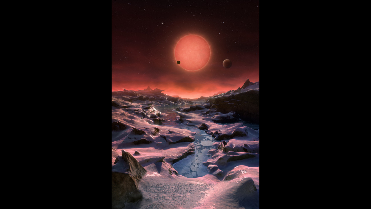 3 planets orbiting dwarf star prime spots to search for life | WFTV