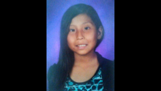 Authorities search for suspect in Navajo girl