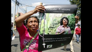 Court files show bid to tar slain Honduran activist Caceres