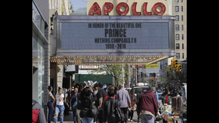 Prince is being added to the Apollo Theater