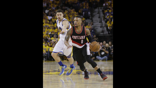 Warriors rally in fourth for 2-0 series lead on Portland