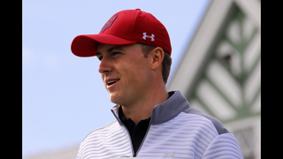 Spieth gets look at