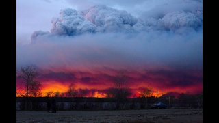 Alberta fire evacuees moved a 2nd time as weather shifts