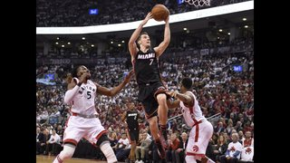 With Lowry faltering, Dragic flourishing, Heat seek 2-0 lead
