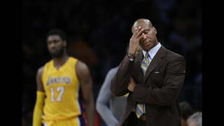 Former Lakers coach Byron Scott
