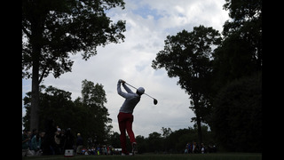 Wheatcroft, Loupe share Wells Fargo lead at 7-under 65