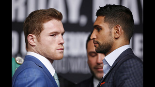 Canelo tries to put Triple G talk aside in fight with Khan
