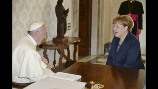 Pope seeks to renew European dream as he accepts unity prize