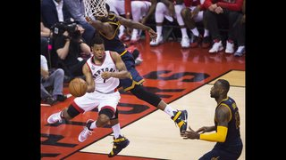Lowry, DeRozan lead Raptors to 105-99 win over Cavaliers