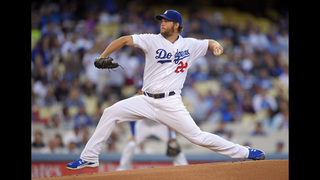 Kershaw tosses 2-hitter in Dodgers