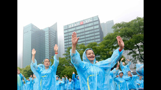 In sync: Over 31,000 in China set world dance record
