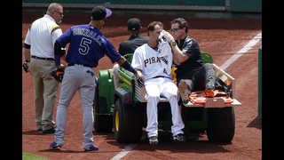 Pirates pitcher Vogelsong dealing multiple facial fractures