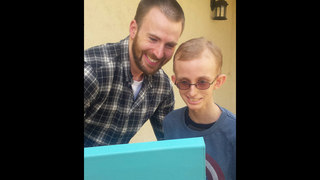 The Avengers heed call to visit teen battling cancer