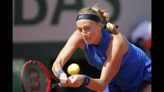 The Latest: Bourgue inspired by Muhammad Ali at French Open