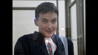 The Latest: Council of Europe welcomes Savchenko