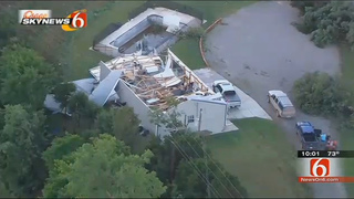 Crews assess damage after tornadoes, hail, rain pound Plains