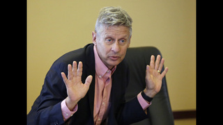 Libertarian Gary Johnson to never-Trumpers: