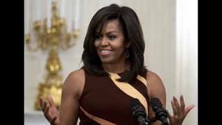 First lady tells Native American grads to live their values