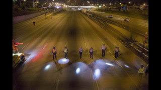Police react as Chicago gun violence spills onto expressways