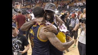 LeBron, Cavs confident, healthy as they return to NBA Finals