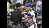 Syndergaard ejected after throwing behind Utley; Collins hot