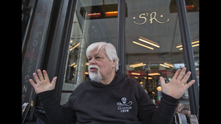 Sea Shepherd founder Paul Watson rams whalers for a living