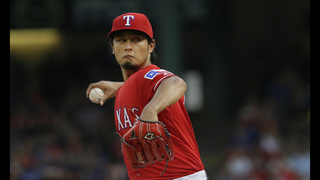 Darvish wins 1st start since 2014 as Rangers top Pirates 5-2