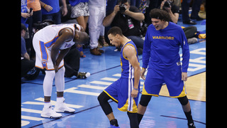 Warriors know Game 7 back home for Finals trip won