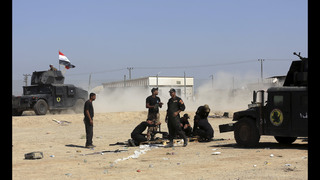 Iraqi forces complete buildup around IS-held Fallujah