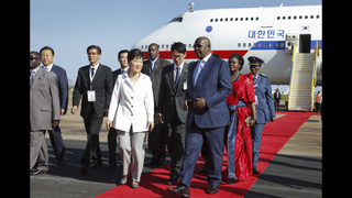 Uganda, South Korea leaders sign co-operation agreements