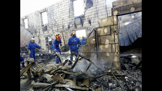 Fire at Ukrainian home for the elderly kills 17, injures 5