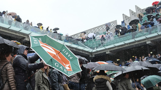 For the 1st time in 16 years, the French Open is washed out