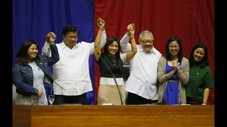Philippine Congress proclaims next president, vice president