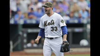 Harvey rediscovers form, leads Mets over White Sox 1-0
