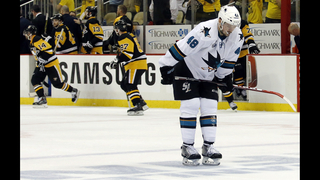 Sharks look to regroup in Game 2 against Penguins