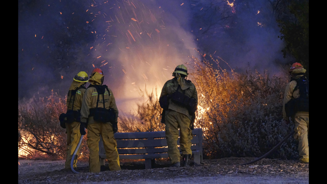 Calabasas Brush Fire 75 Percent Contained