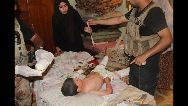 Iraqi Counterterrorism Forces Push Deeper Into Fallujah While Civilians Flee
