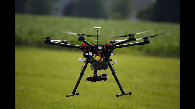 FAA approves drone use for filming