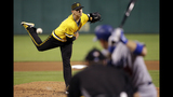 Kuhl beats Kershaw in MLB debut, Pirates down Dodgers 4-3