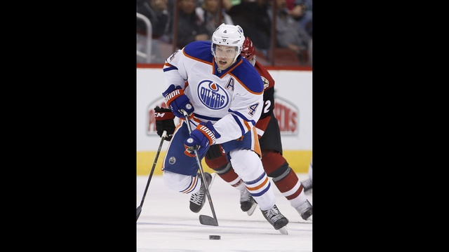 New Jersey acquires Hall from Edmonton for Larsson
