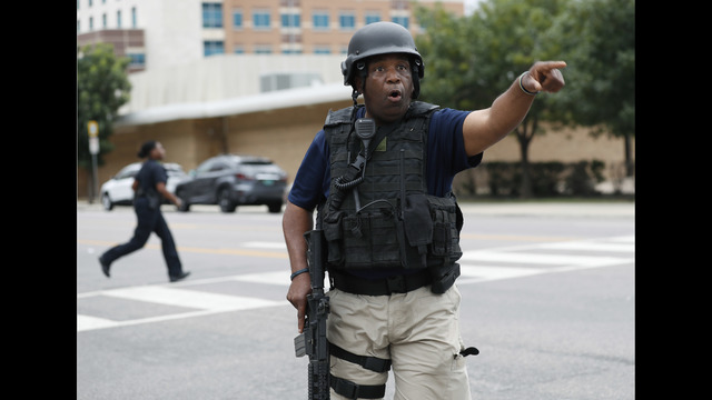 Dallas suspect 'changed after military service'