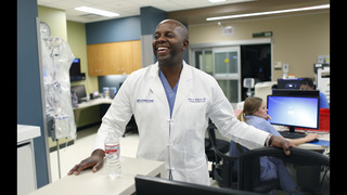 Black doctor's conflict: Saving officers, distrusting police