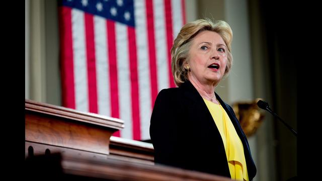 Clinton campaigns with Senator Tim Kaine, possible V-P pick