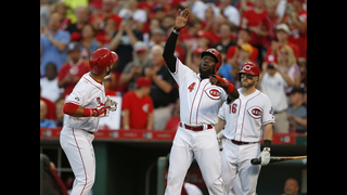 Reds win 8-2 over Braves