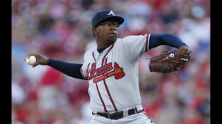 Braves blow lead in 9th, rally for 5-4 win over Reds in 11th