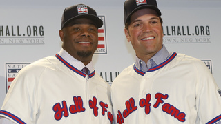 Ken Griffey Jr. and Mike Piazza set to enter Hall of Fame