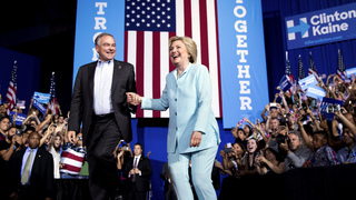 Delegates: Clinton VP pick solid, may not help Dem unity