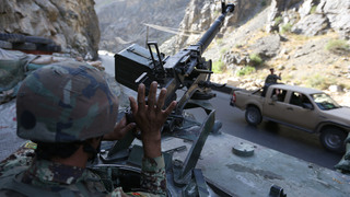 Afghan official says major offensive against IS underway